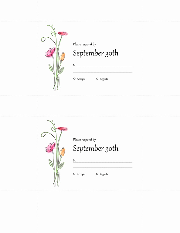 Wedding Invitation Template for Word Lovely Microsoft Word 2013 Wedding Invitation Templates