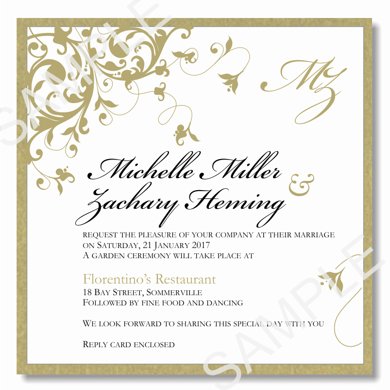 Wedding Invitation Template for Word Lovely Wedding Invitations Template Word