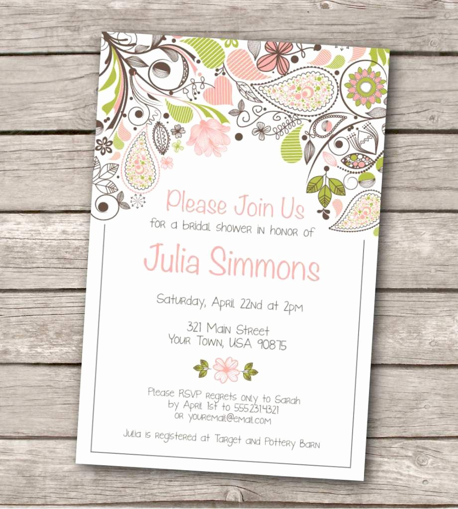 Wedding Invitation Template for Word New Wedding Invitation Wedding Invitation Templates Word