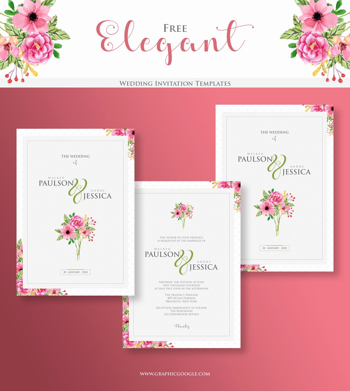 Wedding Invitation Template Free Download Awesome Elegant Wedding Free Invitation Templates Engine Templates