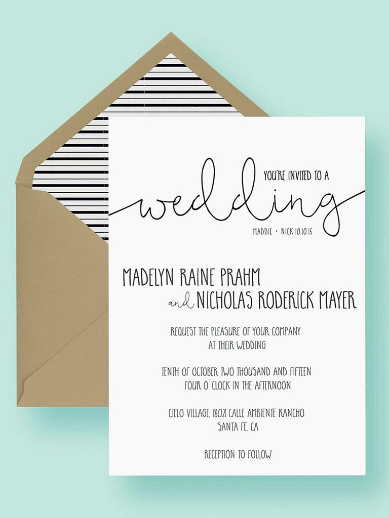 Wedding Invitation Template Free Inspirational 16 Printable Wedding Invitation Templates You Can Diy