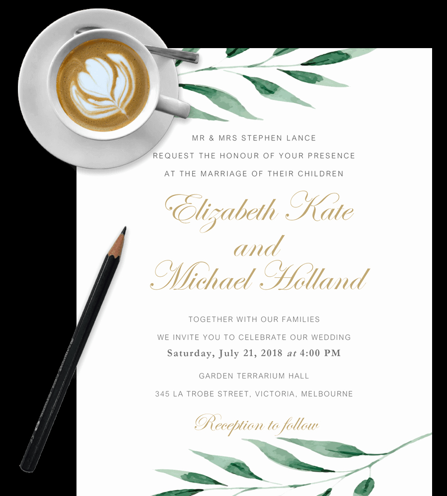 Wedding Invitation Template Free Inspirational Free Wedding Invitation Templates In Word [download