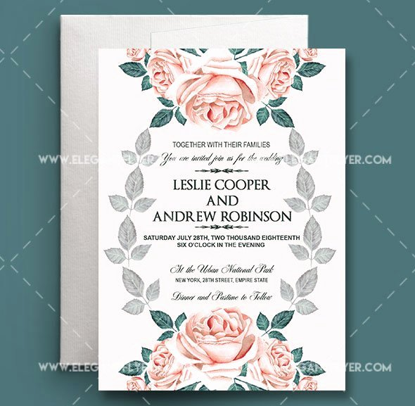 Wedding Invitation Template Free Lovely 75 Free Must Have Wedding Templates for Designers