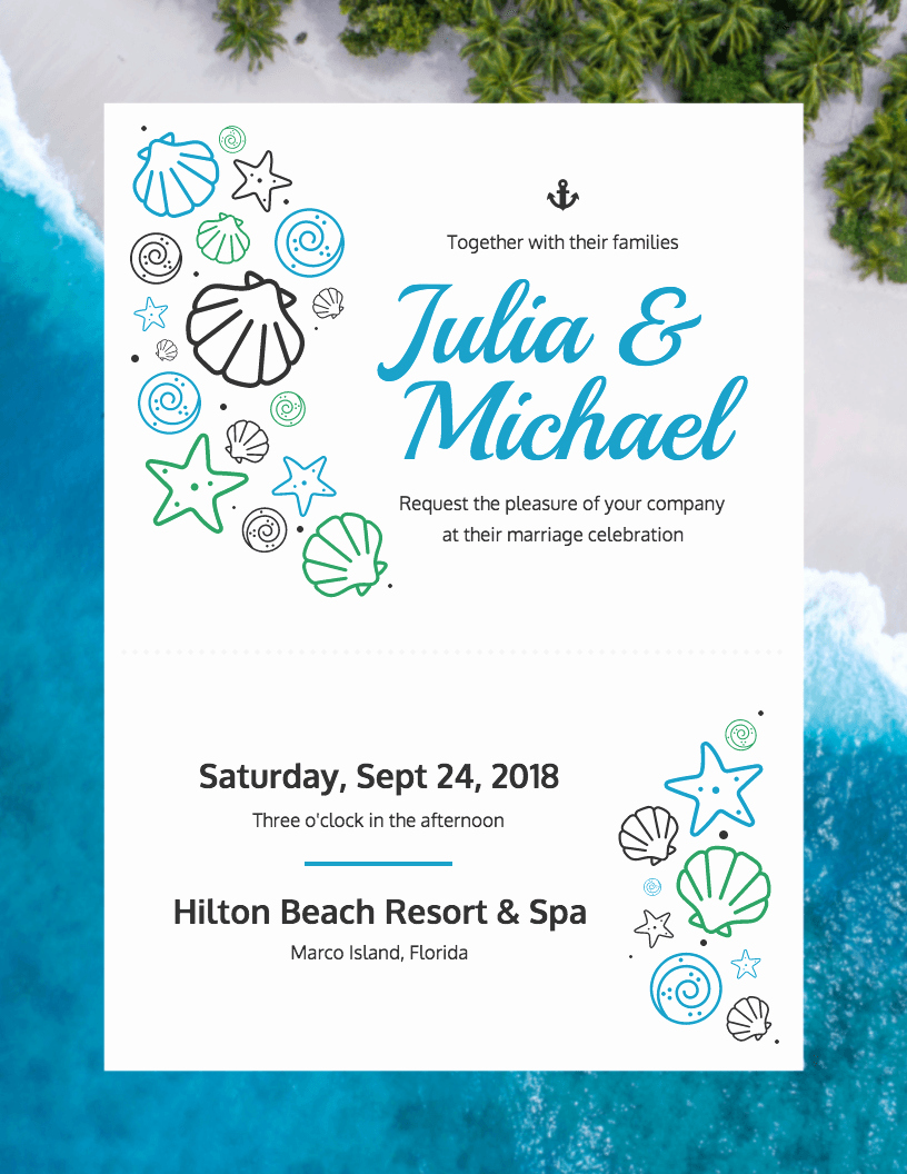 Wedding Invitation Template Free Unique 19 Diy Bridal Shower and Wedding Invitation Templates