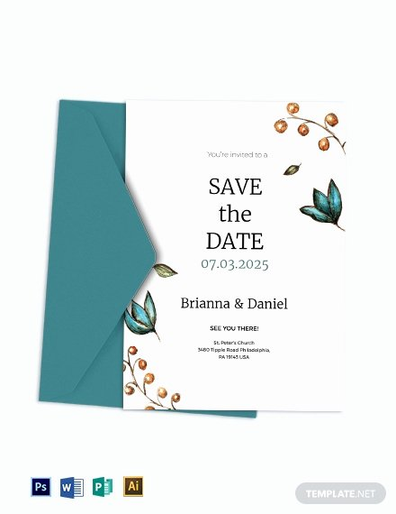 Wedding Invitation Template Illustrator Fresh 10 Wedding Invitation Templates Illustrator Indesign