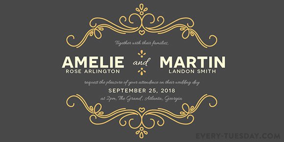 Wedding Invitation Template Illustrator Fresh How to Create A Wedding Invitation In Illustrator