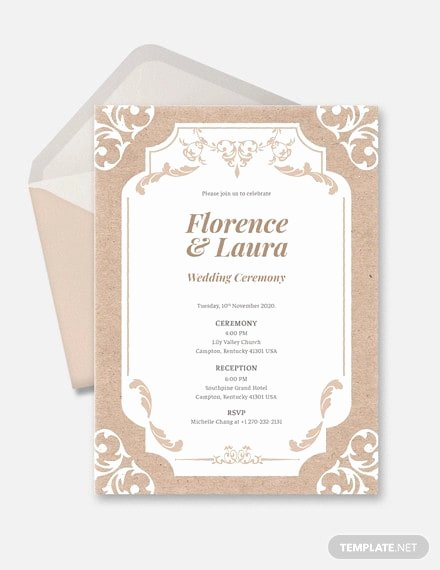 Wedding Invitation Template Illustrator New Free 11 Country Wedding Invitation Designs & Examples In