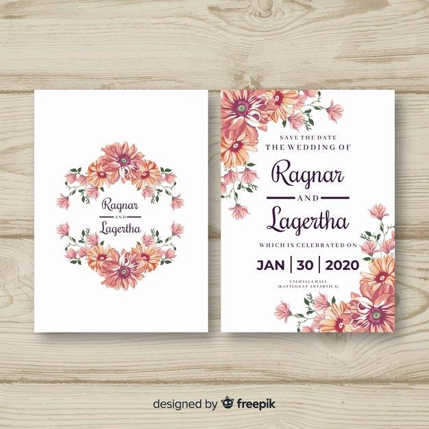 Wedding Invitation Template Psd Elegant Wedding Card Vectors S and Psd Files