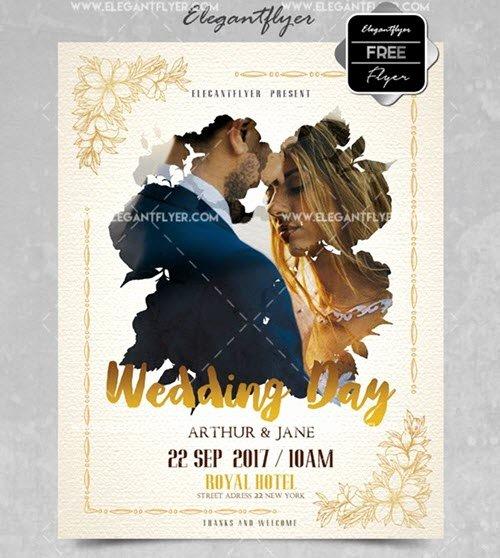 Wedding Invitation Template Psd Fresh Free Customizable Wedding Invitation Psd Templates and