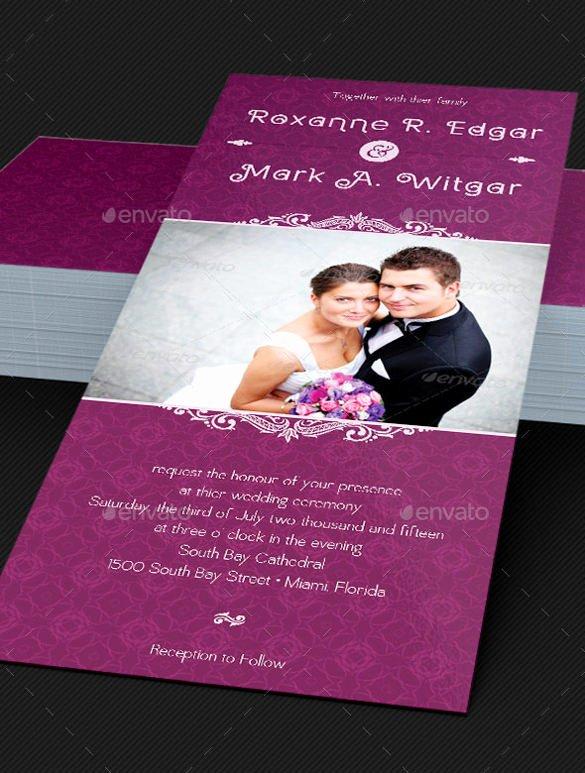 Wedding Invitation Template Psd Luxury 53 Invitation Card Templates Psd Ai Eps