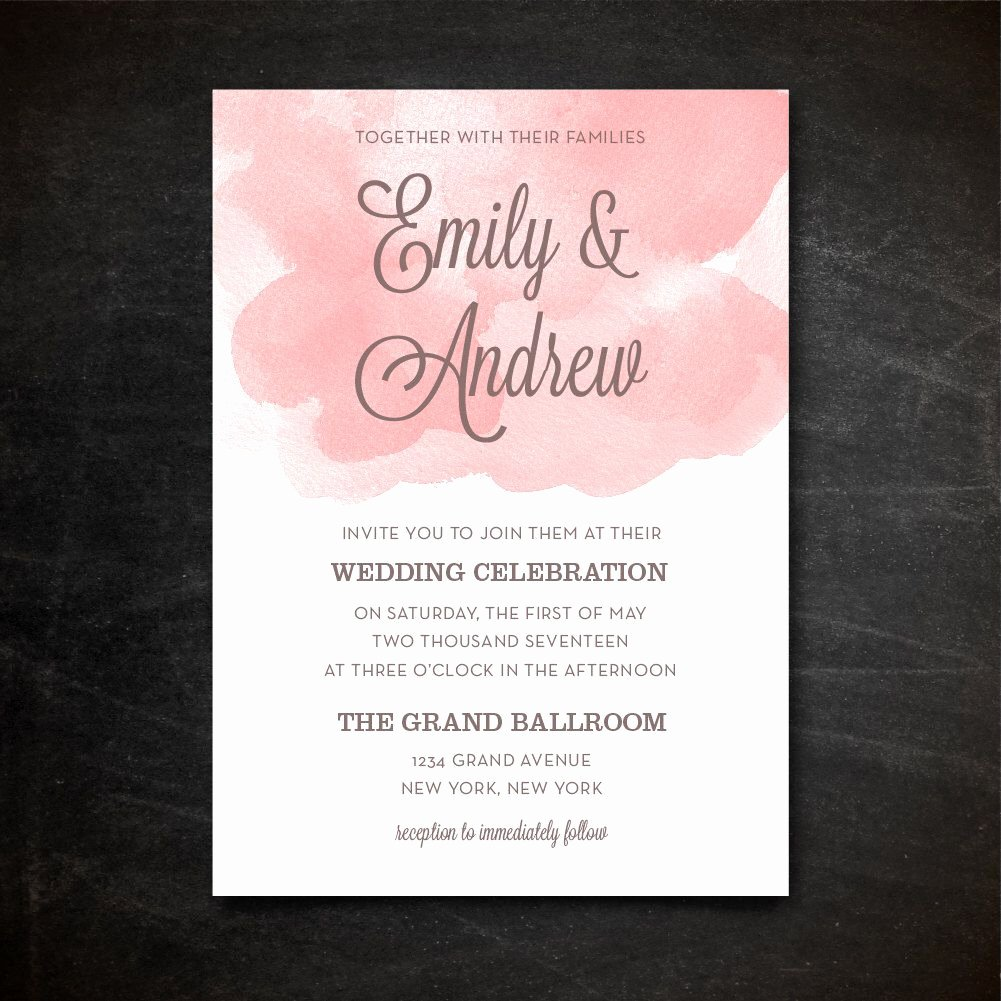 Wedding Invitation Template Psd Luxury Wedding Invitation Template Printable Wedding Invitation