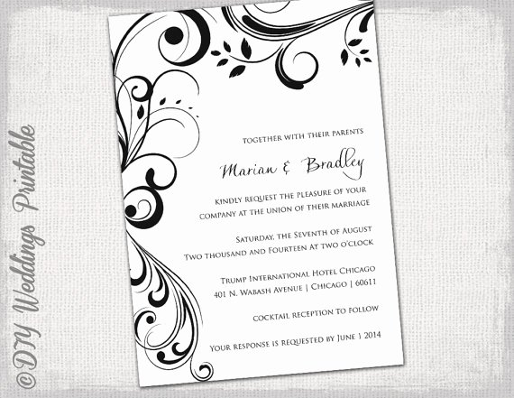 Wedding Invitation Word Template Awesome Pin by Tracy Walker On Tracy S Fall Wedding