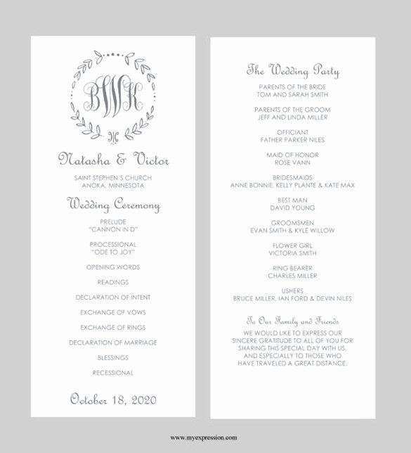 Wedding Invitation Word Template Best Of 43 Wedding Templates Word