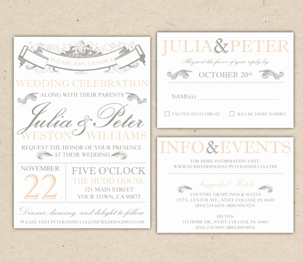 Wedding Invitation Word Template Fresh Beach Wedding Invitation Templates for Microsoft Word