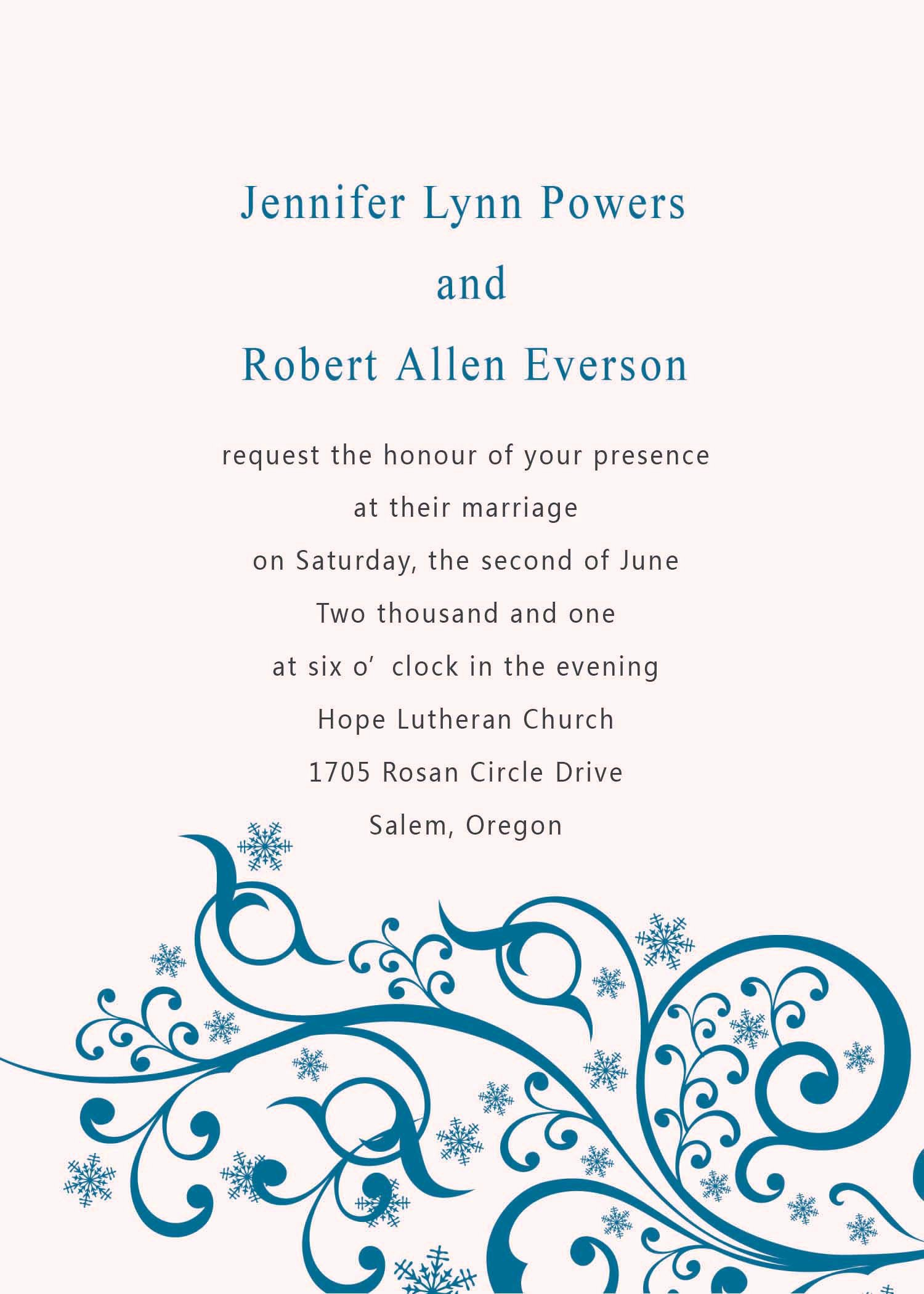 Wedding Invitation Word Template Unique Wedding Invitation Templates Word Wedding Invitation