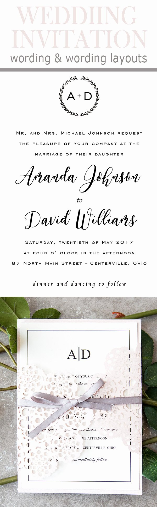 Wedding Invitation Wording Template Inspirational 20 Popular Wedding Invitation Wording & Diy Templates Ideas
