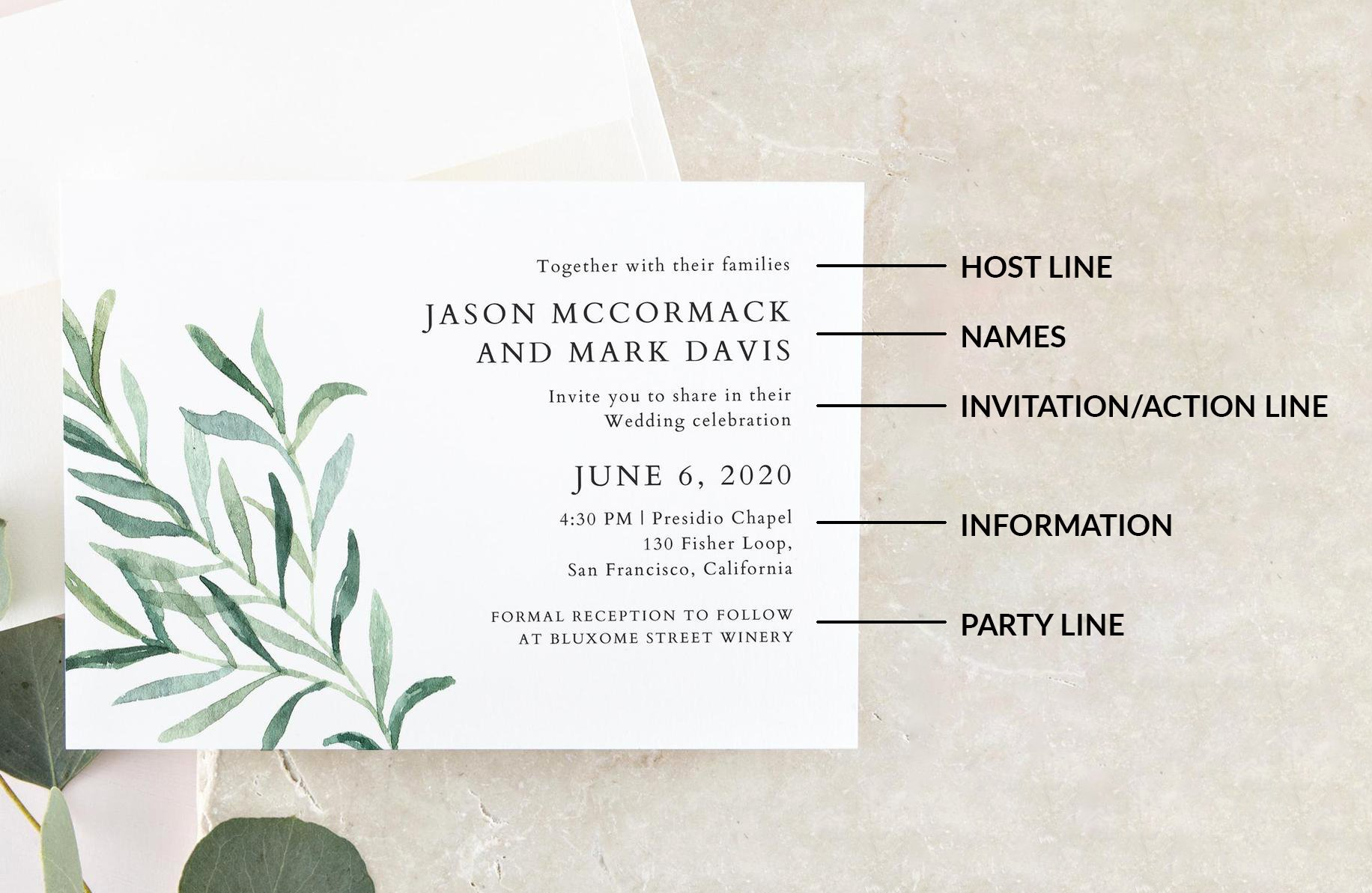 Wedding Invitation Wording Template Lovely Wedding Invitation Wording Examples In Every Style