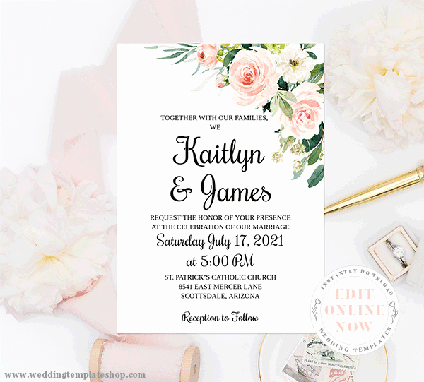 Wedding Invitations List Template Inspirational Wedding Invitations Templates Printable for All Bud S