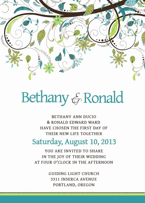 Wedding Invitations Photoshop Template Awesome Wedding Invitation Template Set Psd by Scripturewallart On