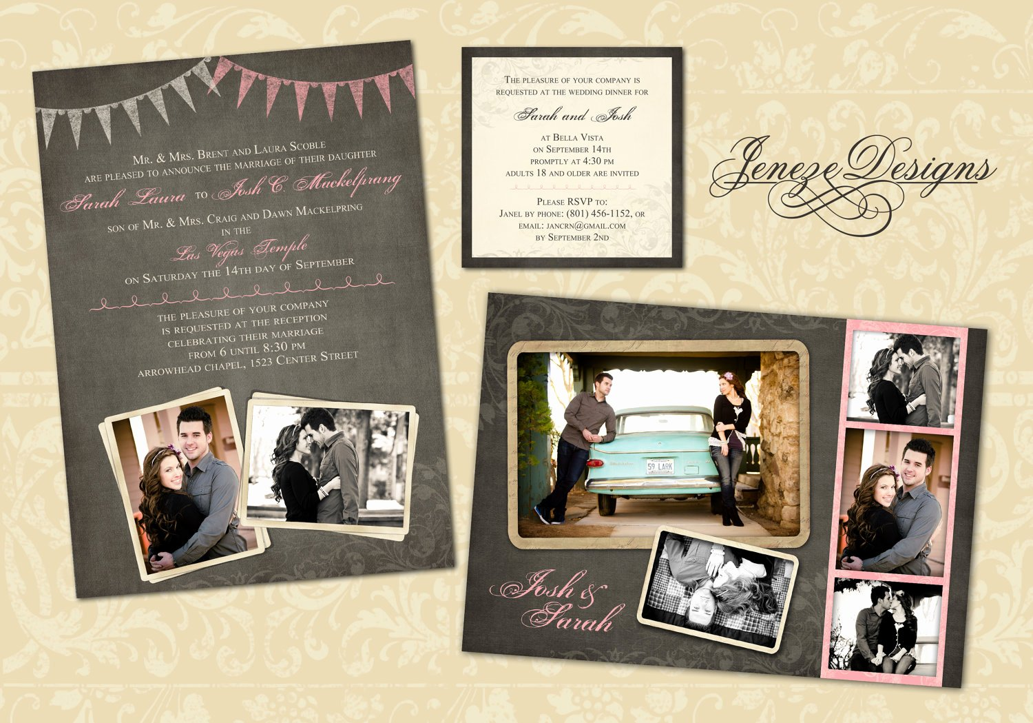 Wedding Invitations Photoshop Template Beautiful Wedding Invitation Template Graphers and Shop