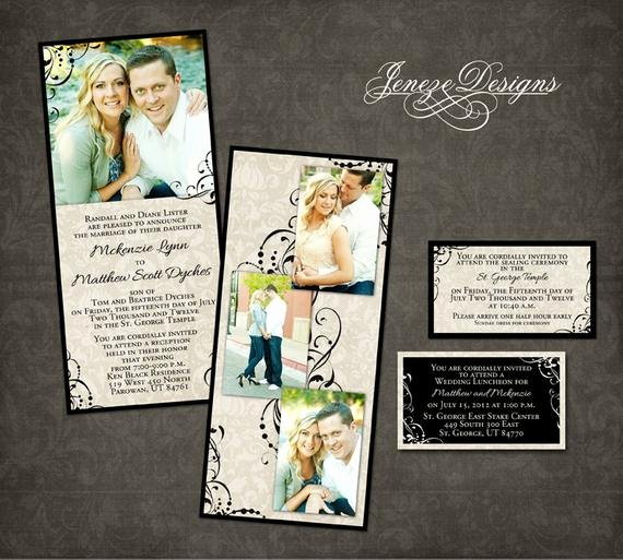 Wedding Invitations Photoshop Template Best Of Wedding Invitation Template Graphers and Shop