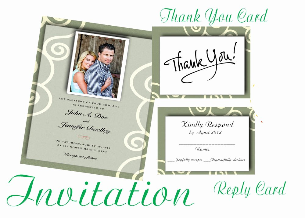 Wedding Invitations Photoshop Template Fresh Shop Templates Psd for Wedding Invitation Vol 3