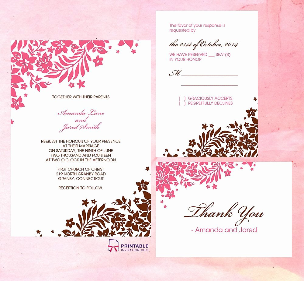 Wedding Invitations Template Free Awesome Wedding Invitation Free Wedding Invitation Templates