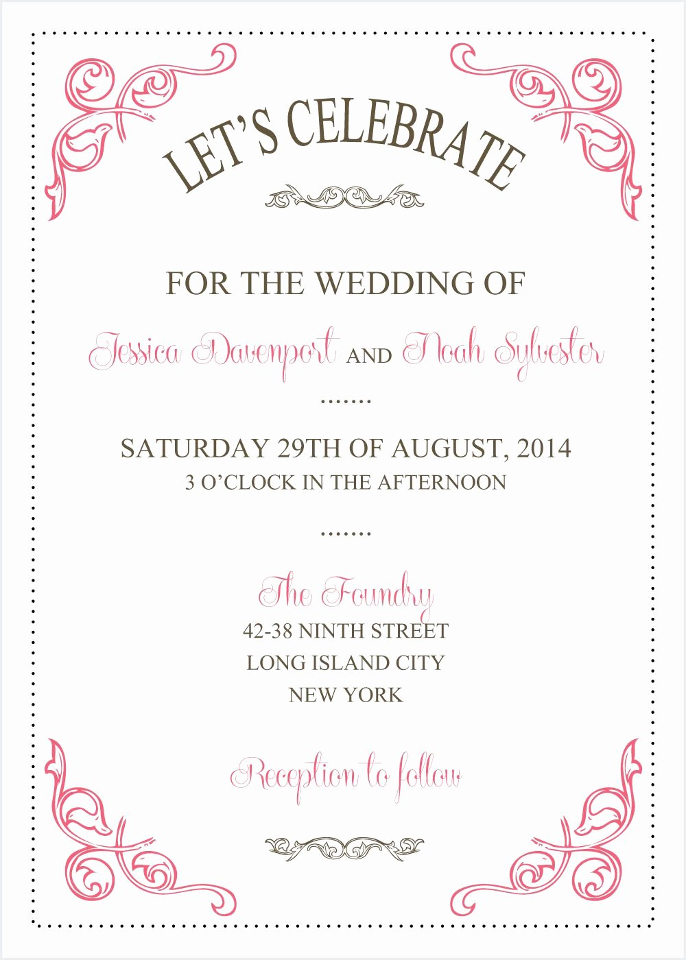 Wedding Invitations Word Template Beautiful Wedding Invitations Template Wedding Invitations