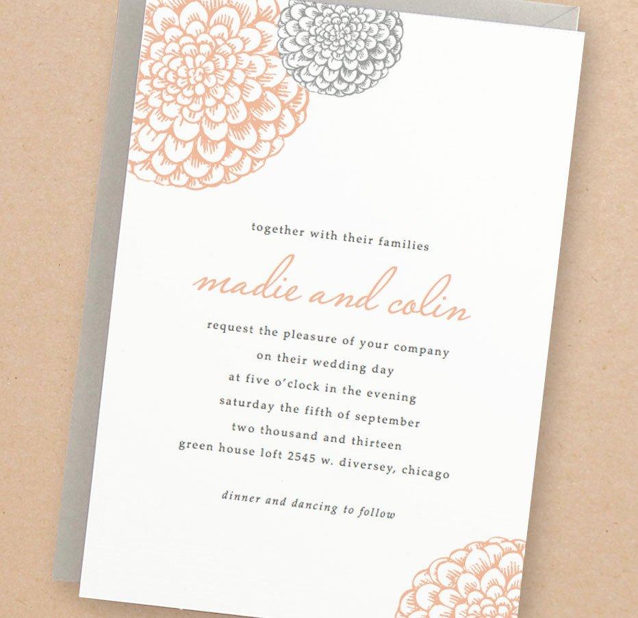 Wedding Invitations Word Template New Printable Wedding Invitation Template Instant Download