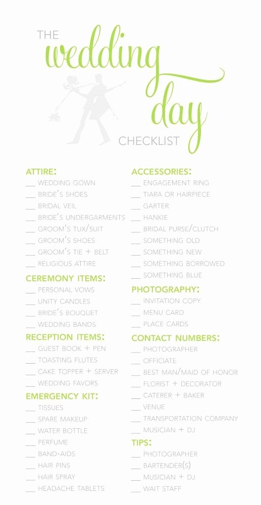 Wedding Plan Checklist Template Beautiful Wedding Planner Template Guide Checklist Decoration