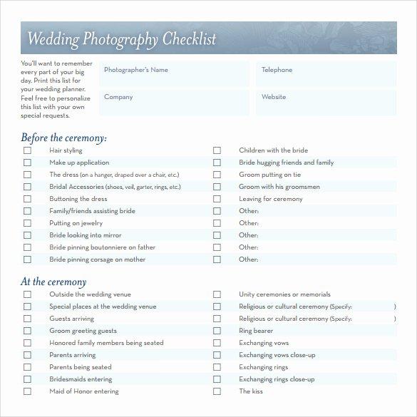 Wedding Plan Checklist Template Best Of Sample Wedding Checklist 14 Documents In Pdf Word