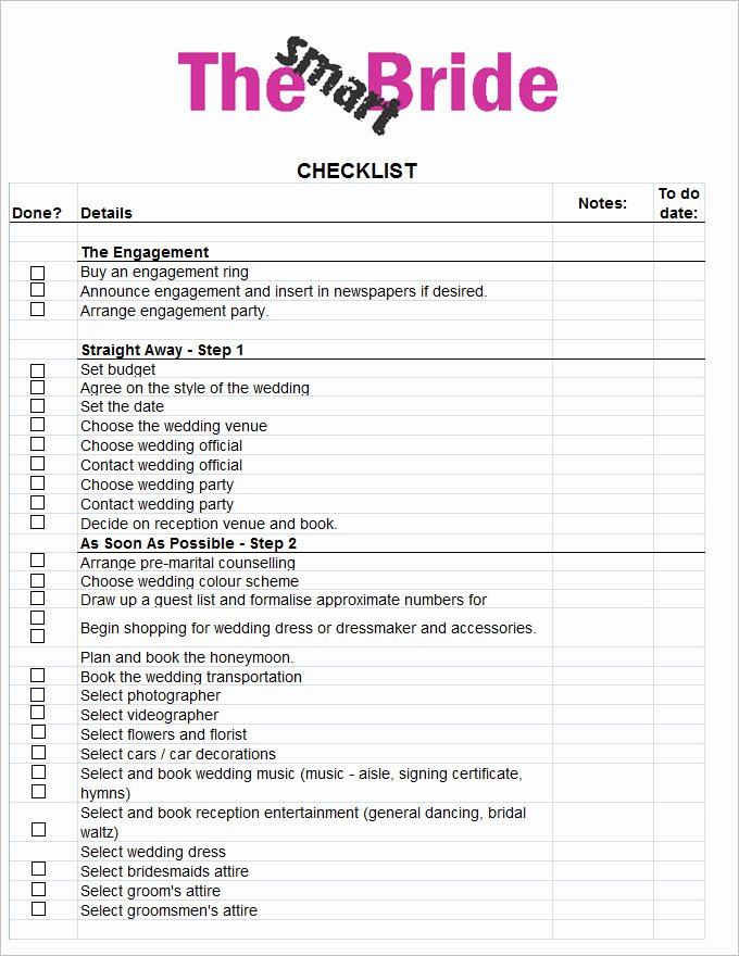 Wedding Plan Checklist Template Elegant Wedding Planning Checklist Template Driverlayer Search