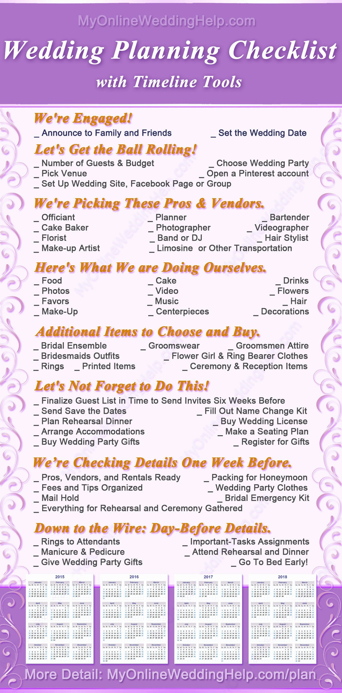 Wedding Plan Checklist Template Inspirational Free Wedding Plan Checklist with Monthly and Yearly