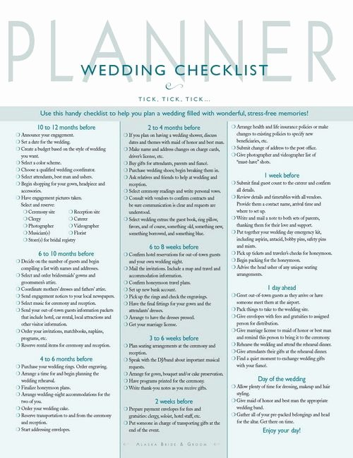 Wedding Plan Checklist Template Luxury Wedding Planner Checklist Wedding Checklist
