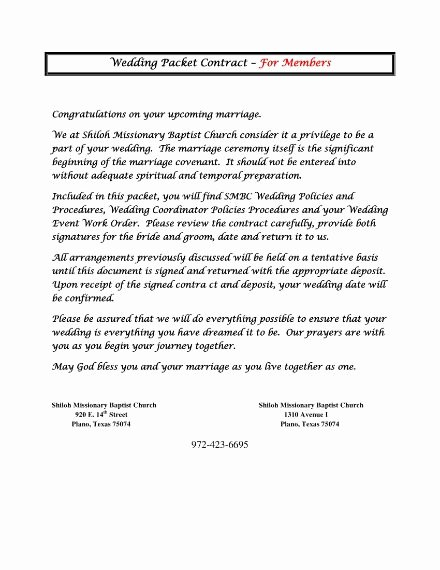 Wedding Planner Contract Template Free Awesome 6 Wedding Planner Contract Templates