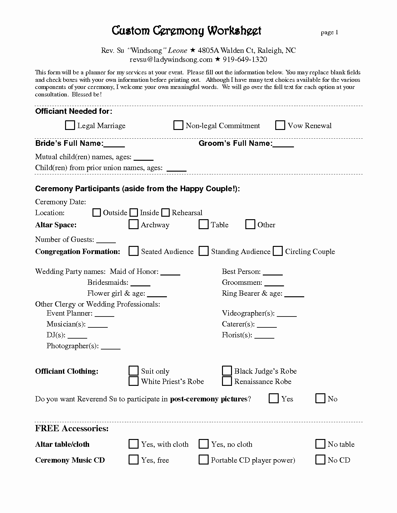 Wedding Planner Contract Template Free Inspirational Free Wedding Planner Contract Template