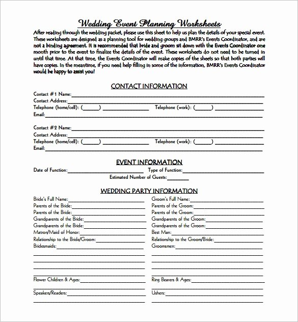 Wedding Planner Proposal Template Best Of event Planning Template 12 Free Word Pdf Documents