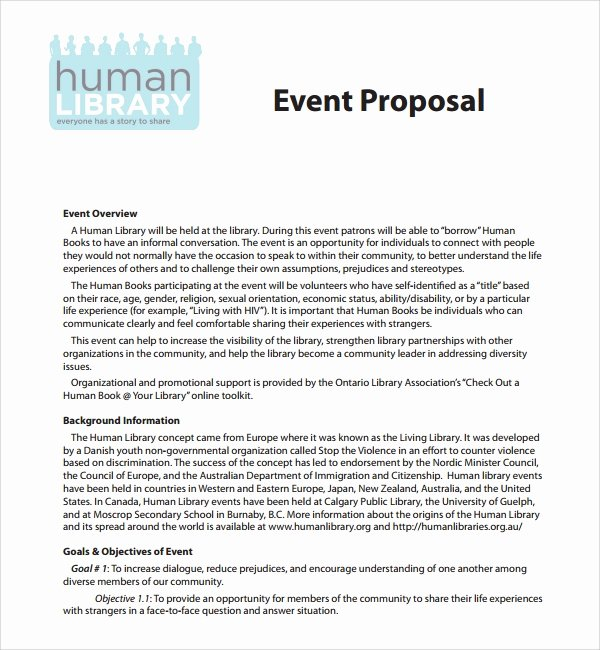 Wedding Planner Proposal Template Fresh 25 Sample event Proposal Templates – Psd Pdf Word