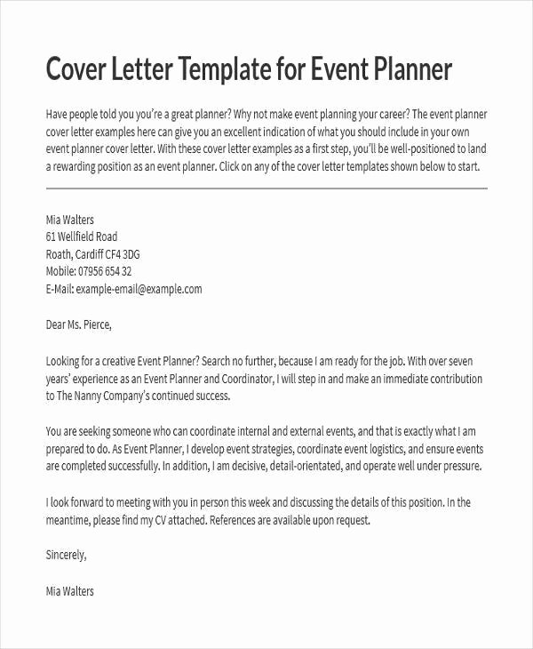 Wedding Planner Proposal Template Luxury 18 event Proposal Letters Samples & Templates Pdf Doc