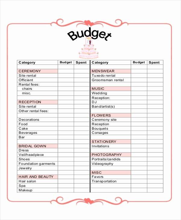 Wedding Planner Template Free Beautiful 7 Wedding Planner Printable Sample Examples In Word Pdf