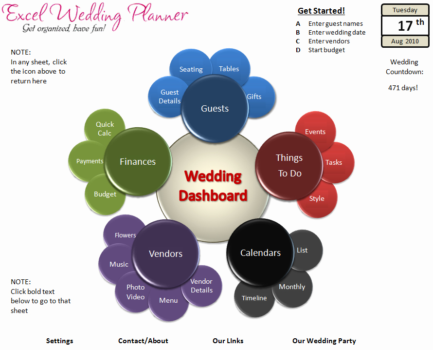 Wedding Planner Template Free Download New Free Excel Wedding Planner Template Download today