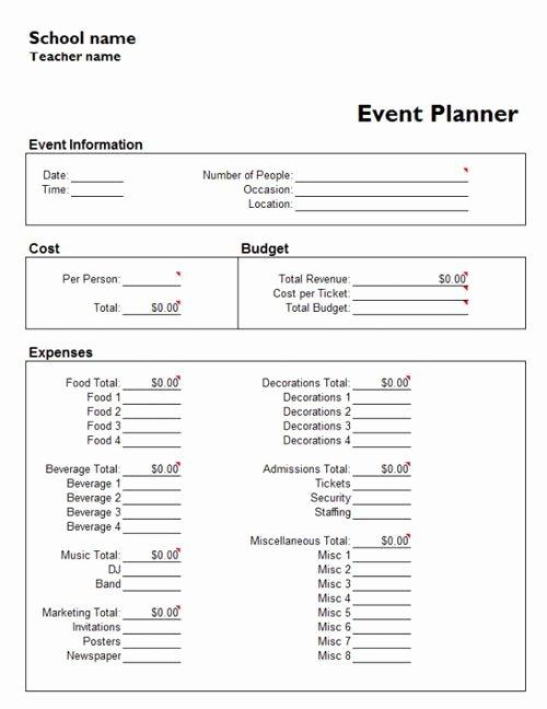 Wedding Planner Template Free Inspirational Useful Microsoft Word & Microsoft Excel Templates