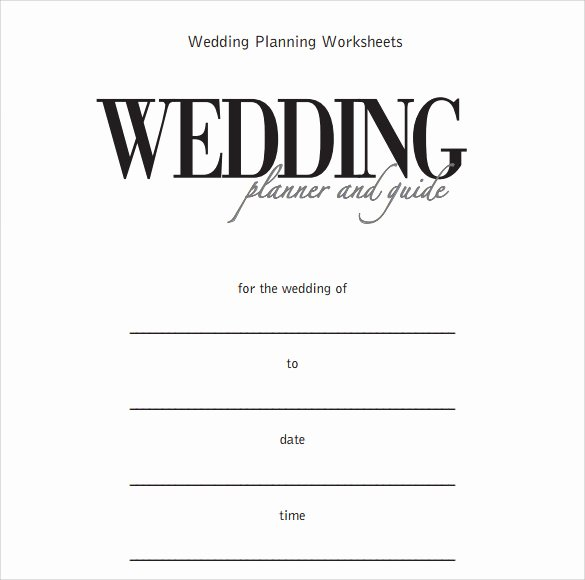 Wedding Planner Template Word Awesome Sample Wedding Planner Template 21 Documents In Pdf