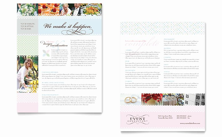 Wedding Planner Template Word Lovely Wedding & event Planning Datasheet Template Word & Publisher