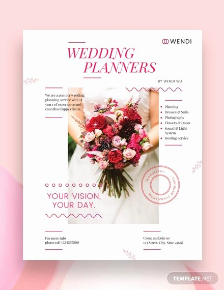 Wedding Planner Template Word Unique 43 Wedding Templates Word