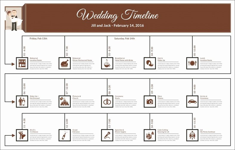 Wedding Planner Timeline Template Best Of 30 Wedding Timeline Templates Psd Ai Eps Pdf Word