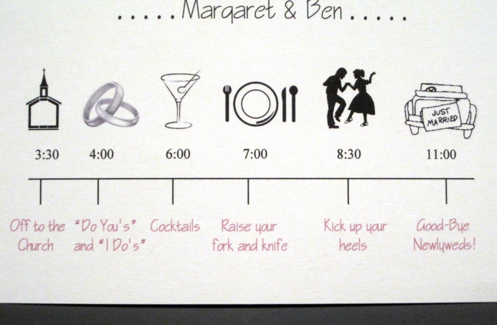 Wedding Planner Timeline Template Inspirational A to Z Wedding Stationery now Available On Etsy