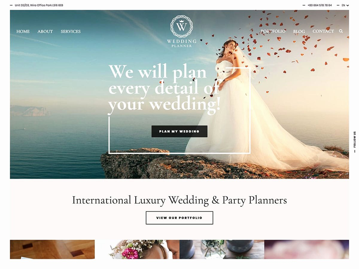 Wedding Planner Website Template Beautiful 35 Best Wedding Wordpress themes 2018 athemes
