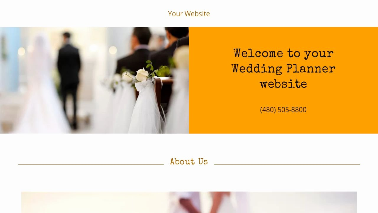 Wedding Planner Website Template Fresh Wedding Planner Website Templates