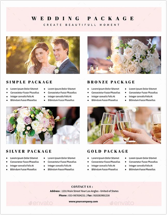Wedding Planner Website Template Unique 22 Awesome Wedding Planner Flyer Template & Designs Psd
